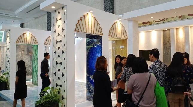Datang ke IndoBuildTech, Arsitek Bisa Diskusi dengan Master of Art Stone