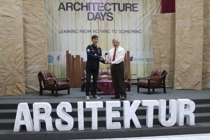 Rektor Buka Architecture Days : Mahasiswa Harus Lebih Berperan